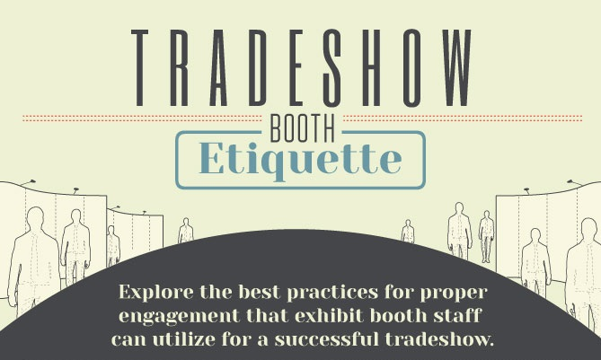 Trade Show Booth Etiquette : Trade show etiquette for booth staff brandme