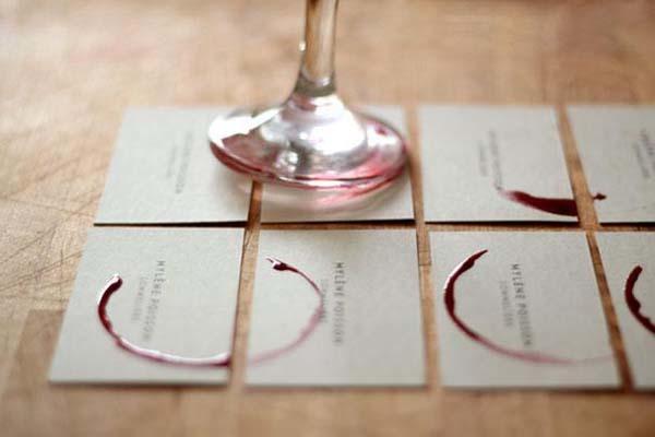 Diy business cards brandme brandme wine business cards reheart Images