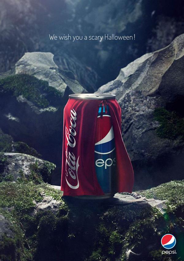 Coke vs. Pepsi: A Scary Halloween Ad Campaign - BrandMe BrandMe