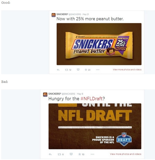 Snickers Twitter Image